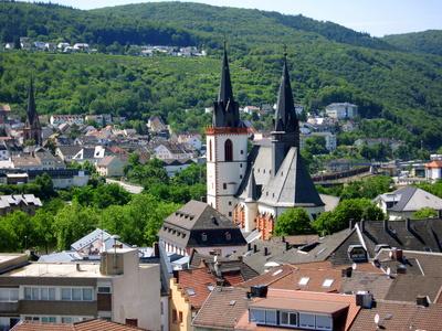 Bingen am Rhein - Ansicht der Stadt