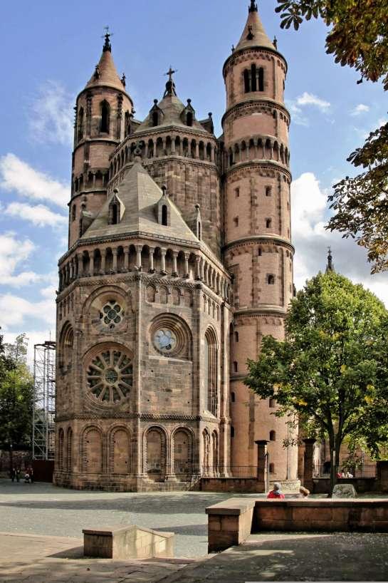 Der Dom der Stadt Worms